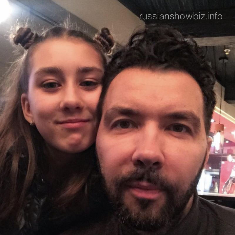 Денис Клявер с дочерью