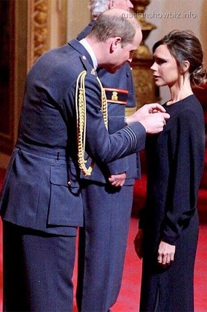 Принц Уильям и Виктория Бекхэм