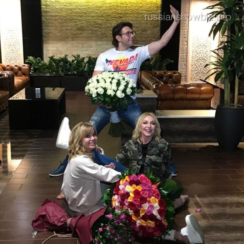 Андрей Малахов, Алла Михеева и Кристина Орбакайте