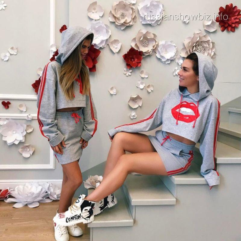 Анна Седокова с дочерью