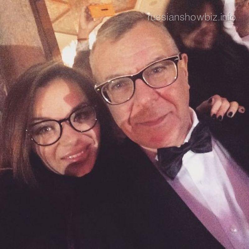 Андрей Ургант с женой