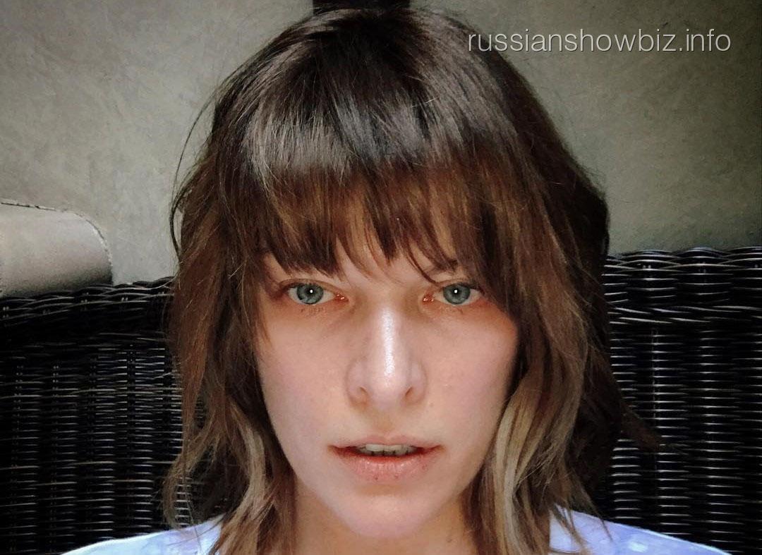 Милла Йовович показала своего двойника