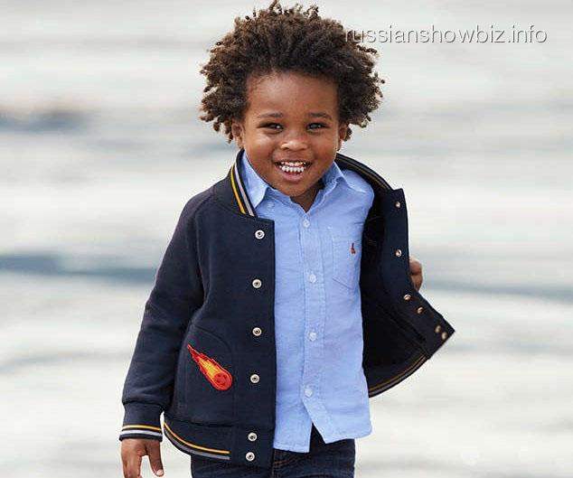 Трехлетний ребенок Сиары стал лицом брендовой одежды