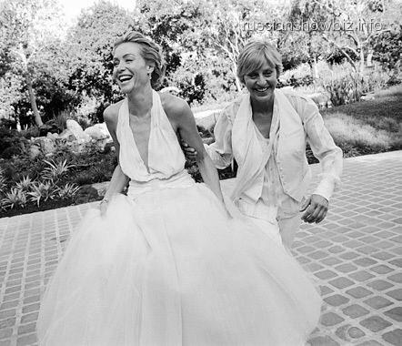 Эллен Дедженерез отметила 9 годовщину свадьбы с женой