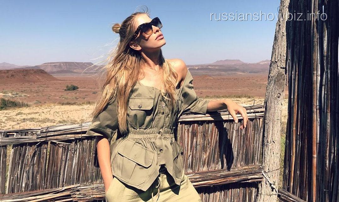 Елена Перминова переехала жить в палатку