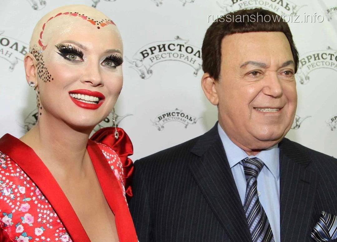 Лена Ленина и Иосиф Кобзон