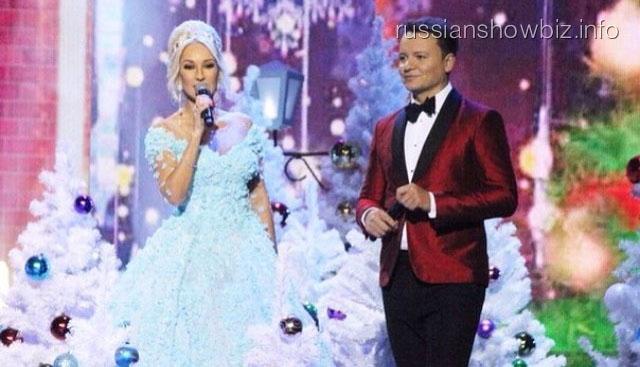 Олешко и Кудрявцева встретили Новый год
