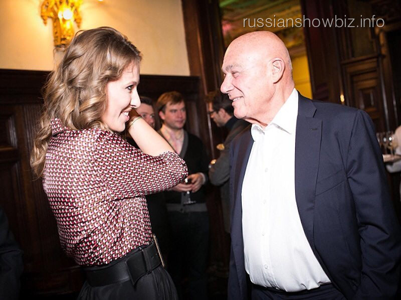 Владимир Познер и Ксения Собчак