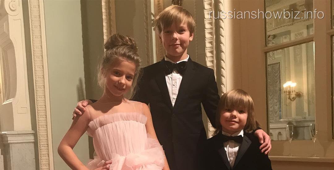 Дети Барановской и Аршавина
