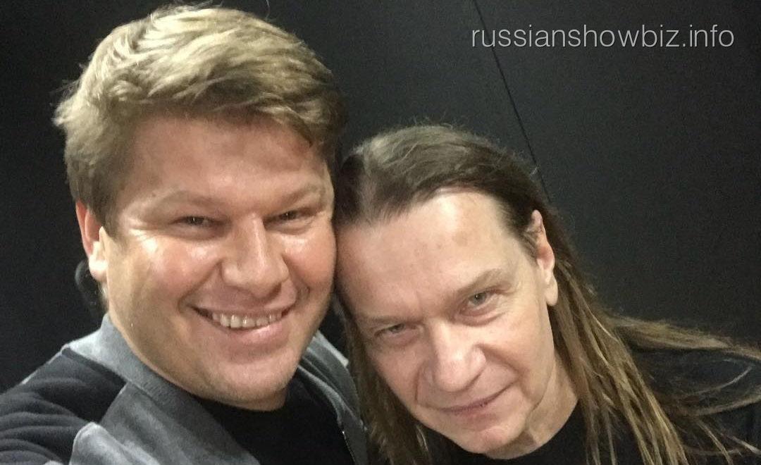 Дмитрий Губерниев и Валерий Кипелов