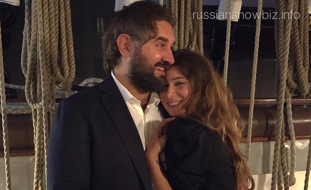 Жанна Бадоева с супругом