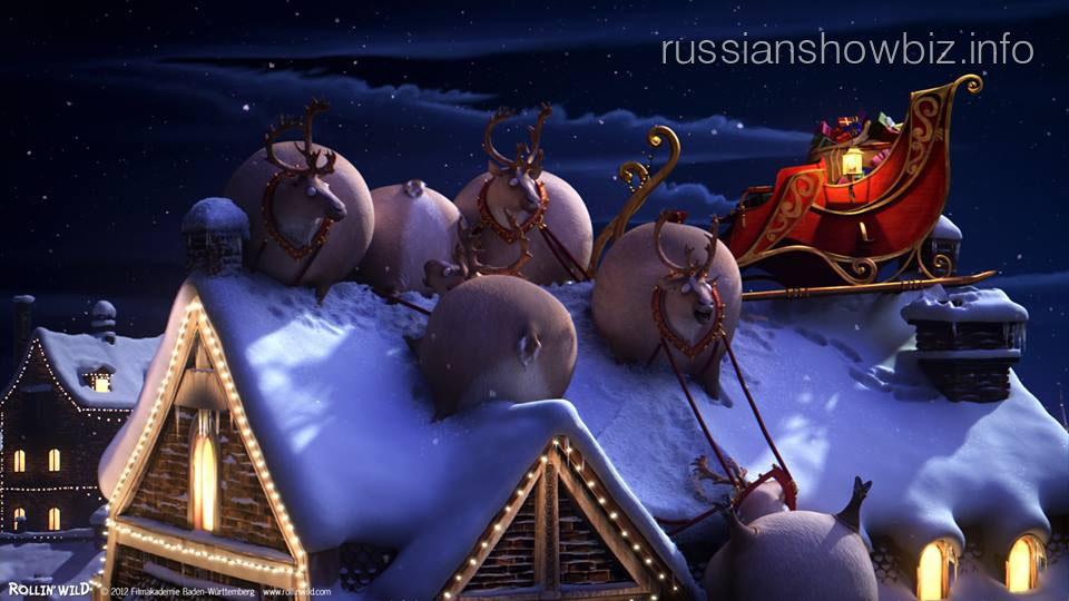 Смотрим мультфильмы в новогодние праздники
