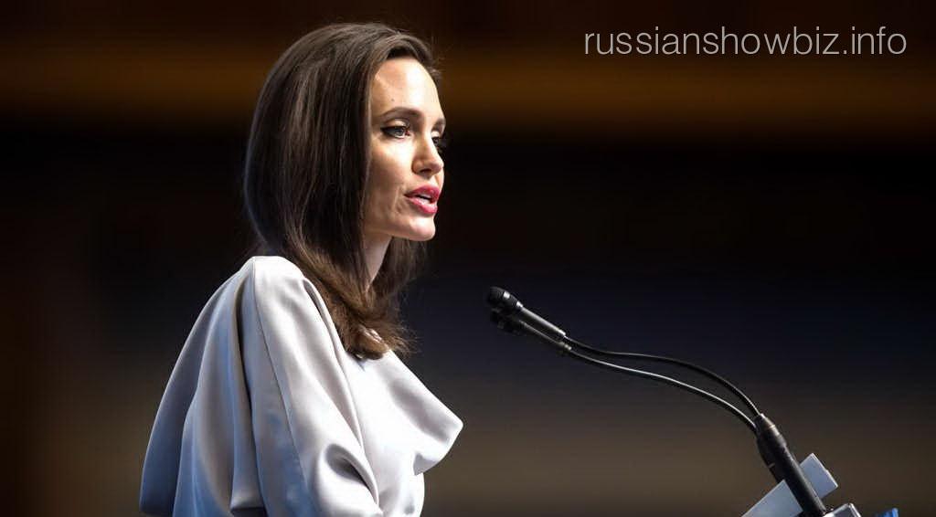 Анджелина Джоли рассказала о насилии в Голливуде