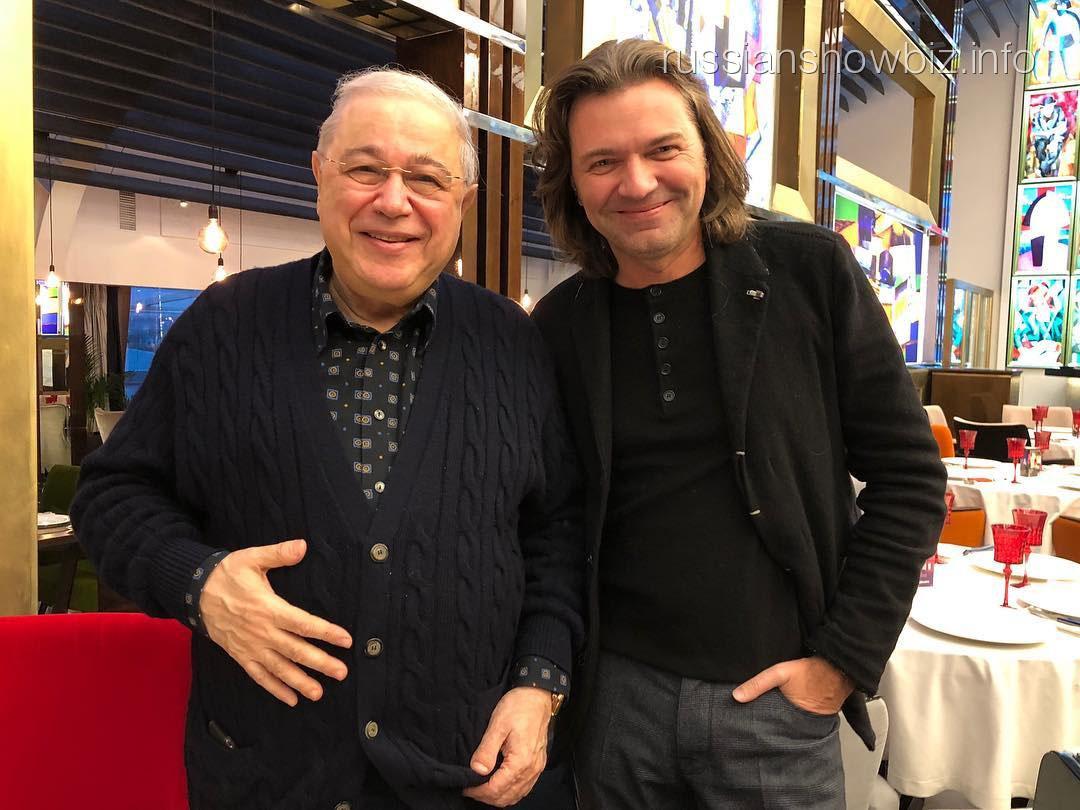 Евгений Петросян и Дмитрий Маликов