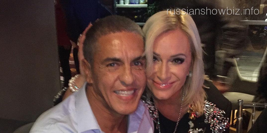 Наталья Гулькина и Сами Насери