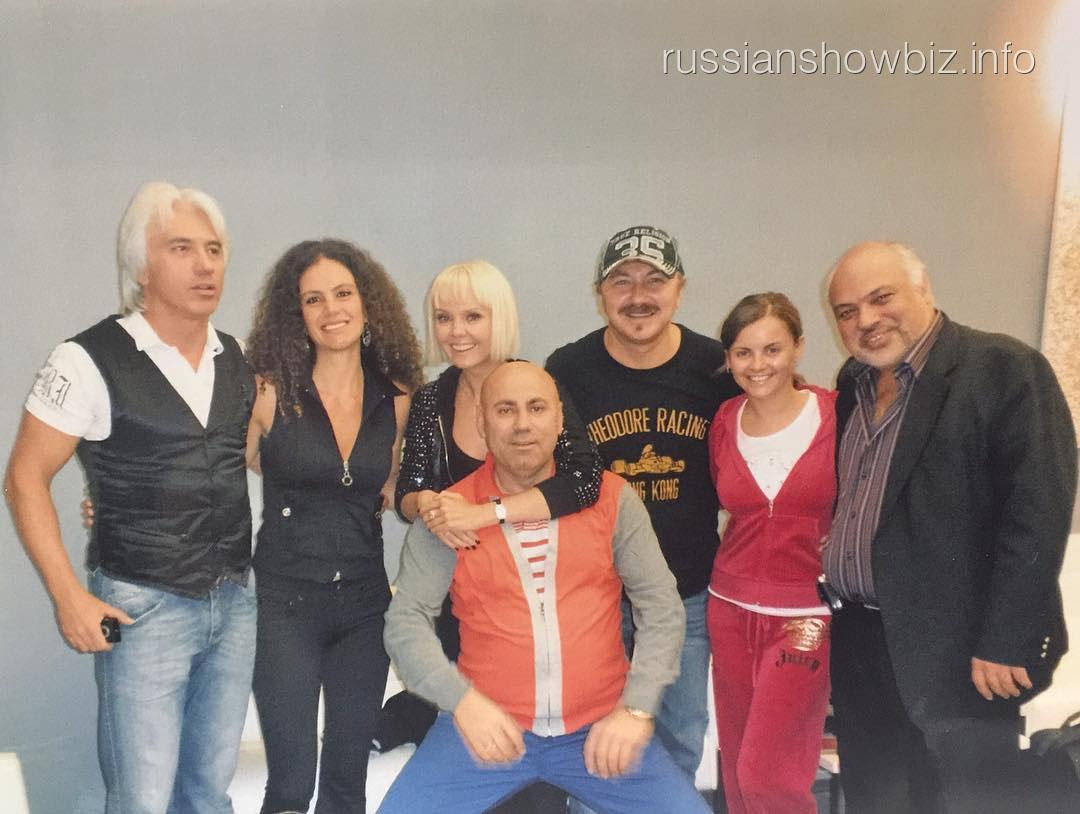 Игорь Николаев с товарищами