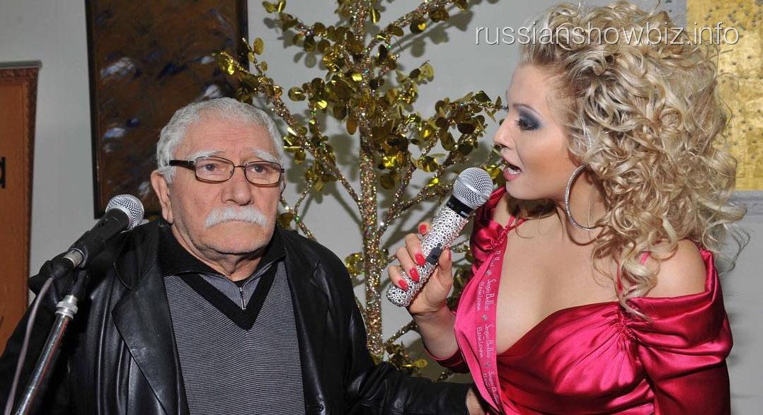 Лена Ленина с Арменом Джигарханяном