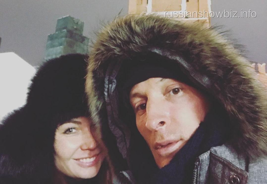 Павел Воля с супругой