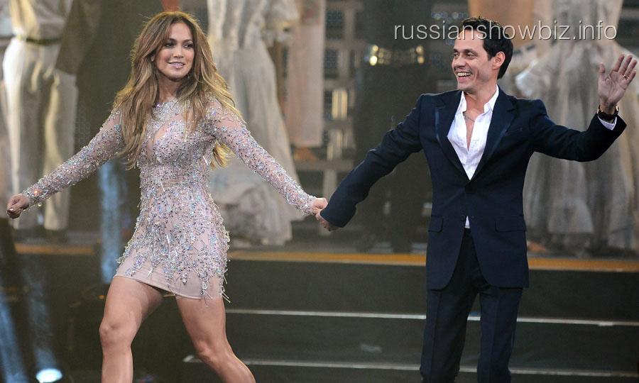 Дженнифер Лопес и Марк Энтони