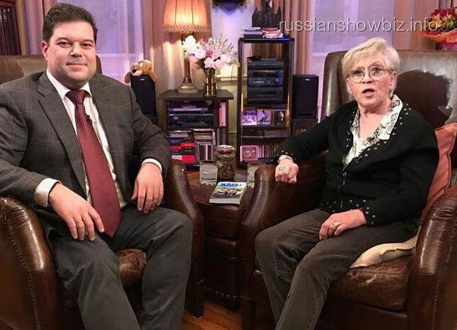 Сергей Бабаев с Алисой Фрейндлих