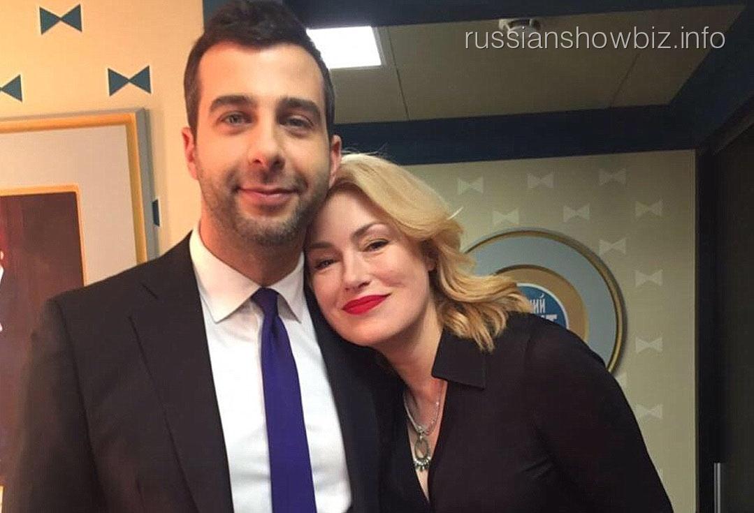 Мария Шукшина с Иваном Ургантом