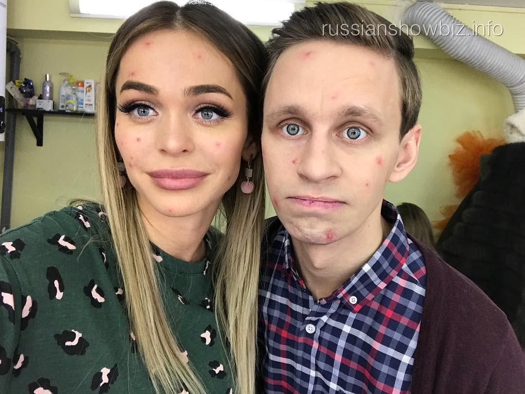 Анна Хилькевич с актером Александром Стекольниковым