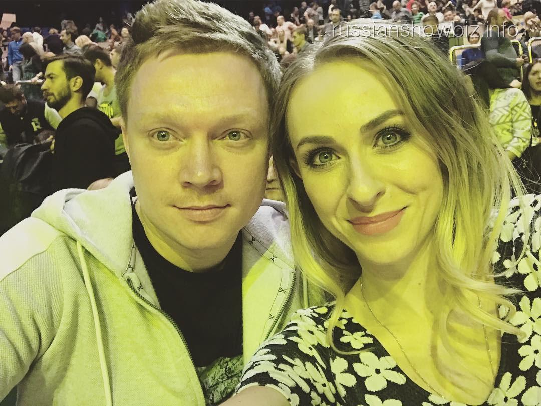 Екатерина Моргунова с мужем