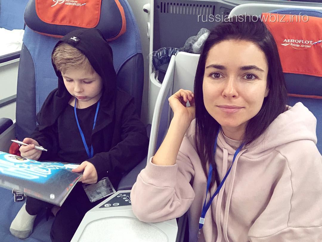 Ирена Понарошку с сыном