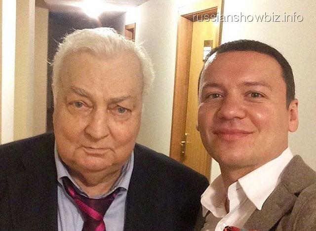Александр Олешко с Михаилом Державиным