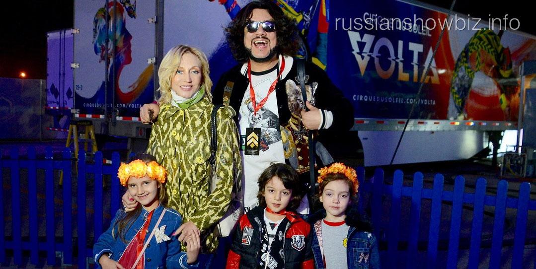 Кристина Орбакайте с Филиппом Киркоровым