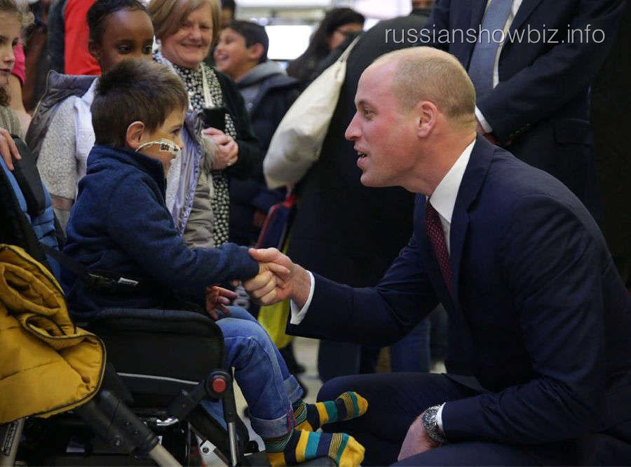 Принц Уильям теряет волосы