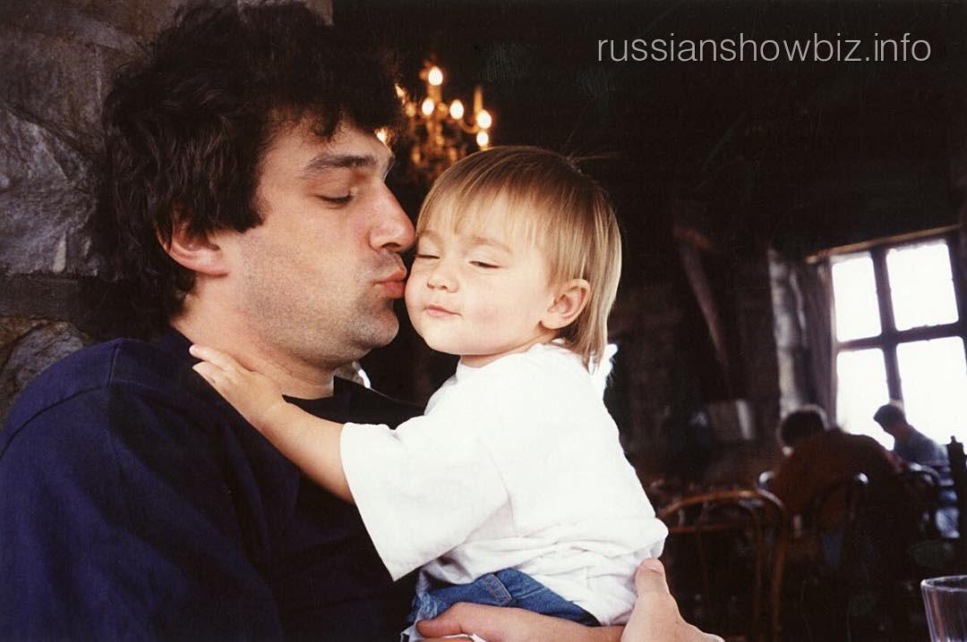 Анастасия Шубская с отцом
