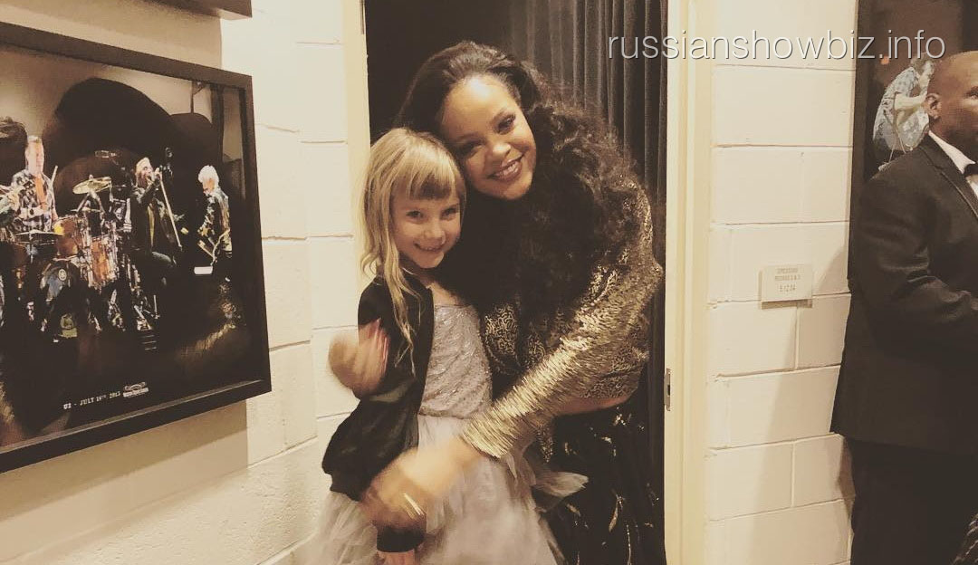 Рианна с дочерью Пинк
