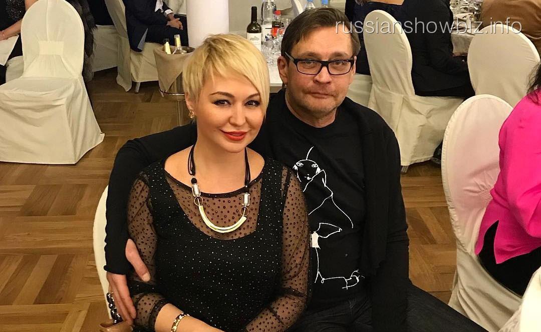 Катя Лель с Александром Домогаровым