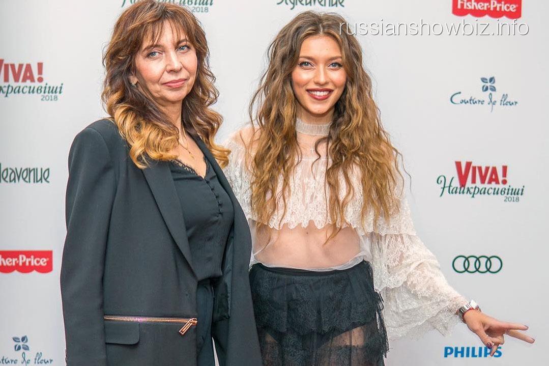 Регина Тодоренко с матерью