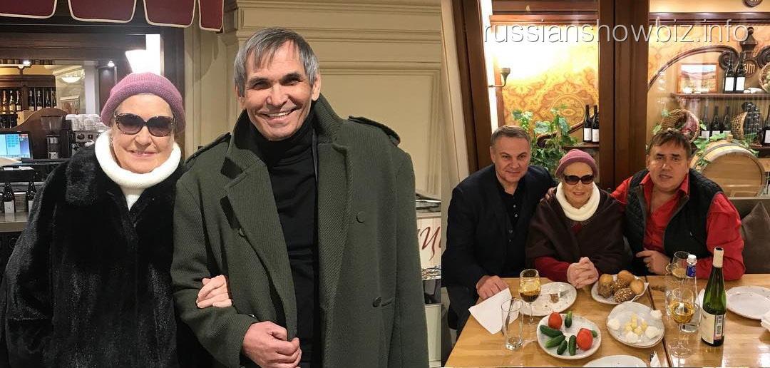 Станислав Садальский с Бари Алибасовым и Лидией Шукшиной