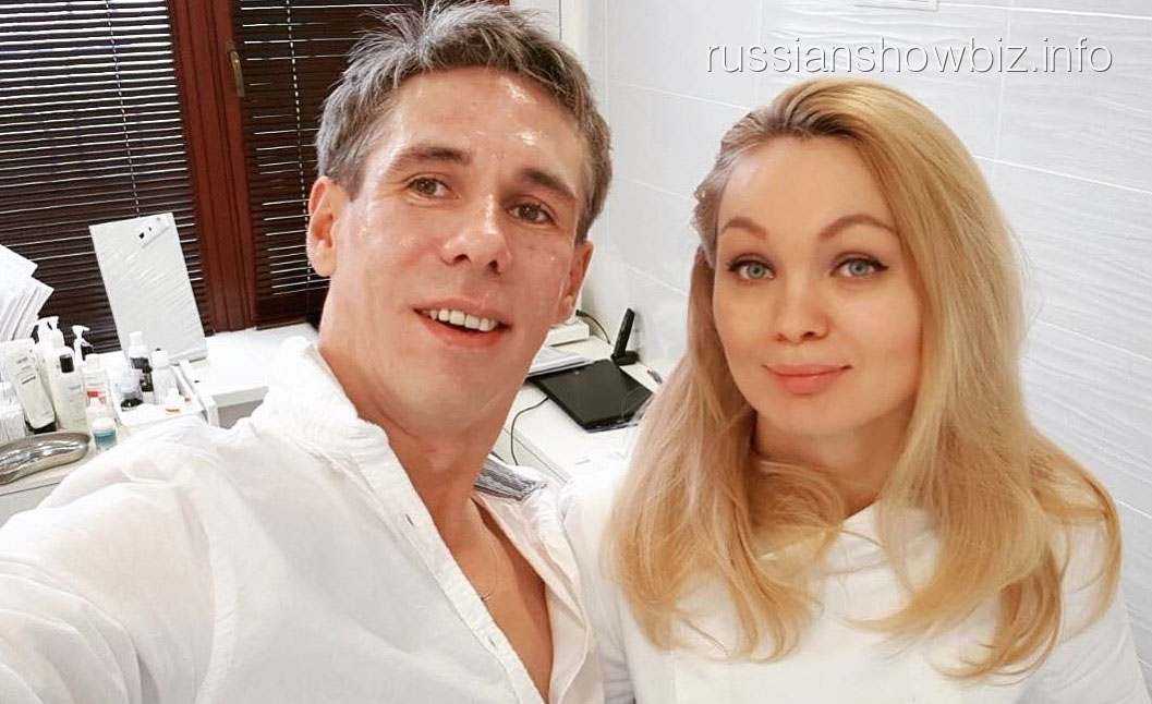 Алексей Панин с косметологом