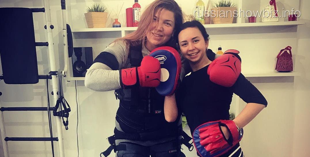 Екатерина Скулкина с тренером