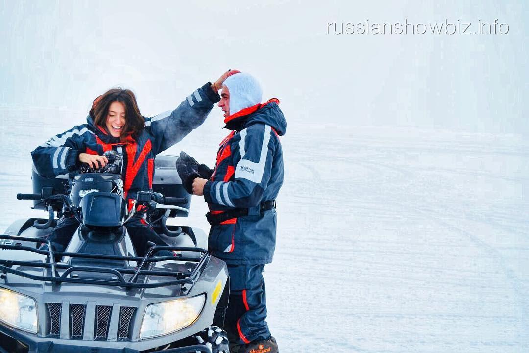 Регина Тодоренко с Владом Топаловым