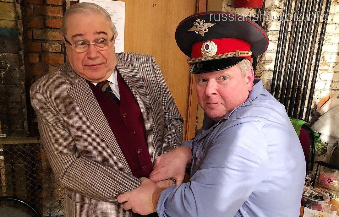 Евгений Петросян с Михаилом Вашуковым
