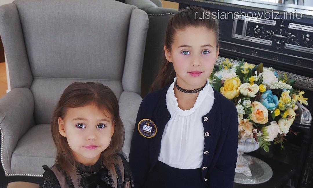 Дети Оксаны Самойловой
