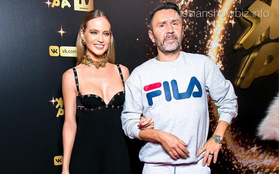 Наталья Ионова и Сергей Шнуров