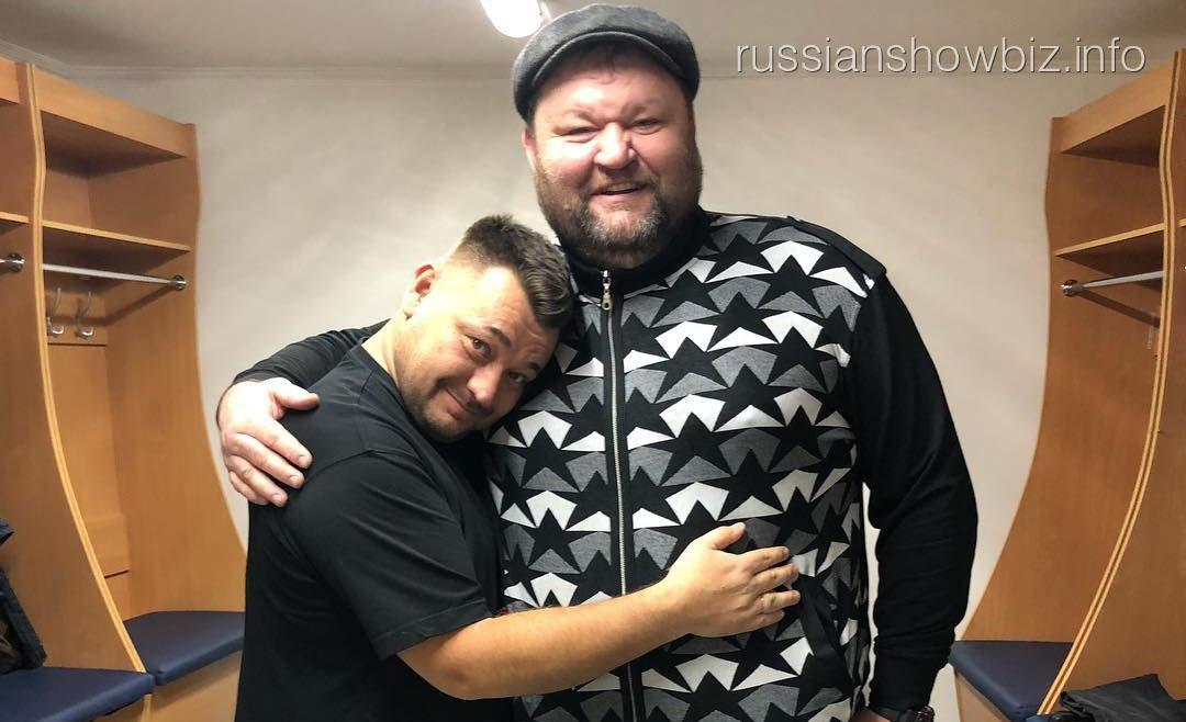 Сергей Жуков с Ильдаром Абасовым