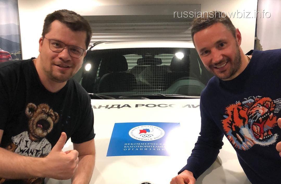 Илья Ковальчук и Гарик Харламов