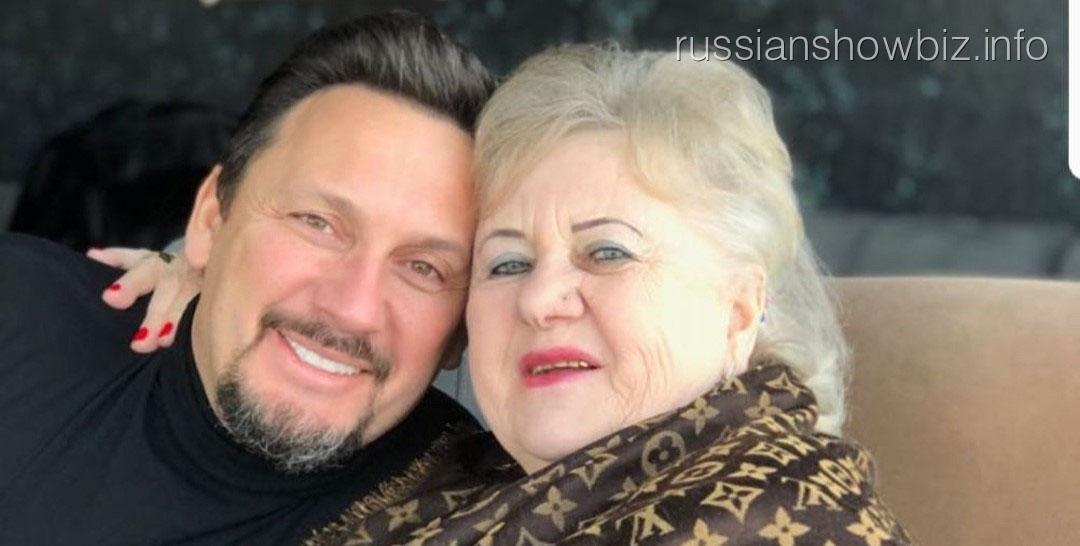 Стас Михайлов с матерью