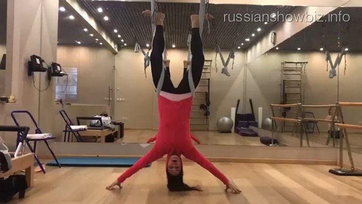 Екатерина Андреева показала, как проходят ее тренировки