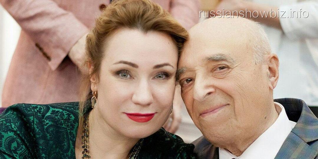Ольга Тумайкина с Владимиром Этушем