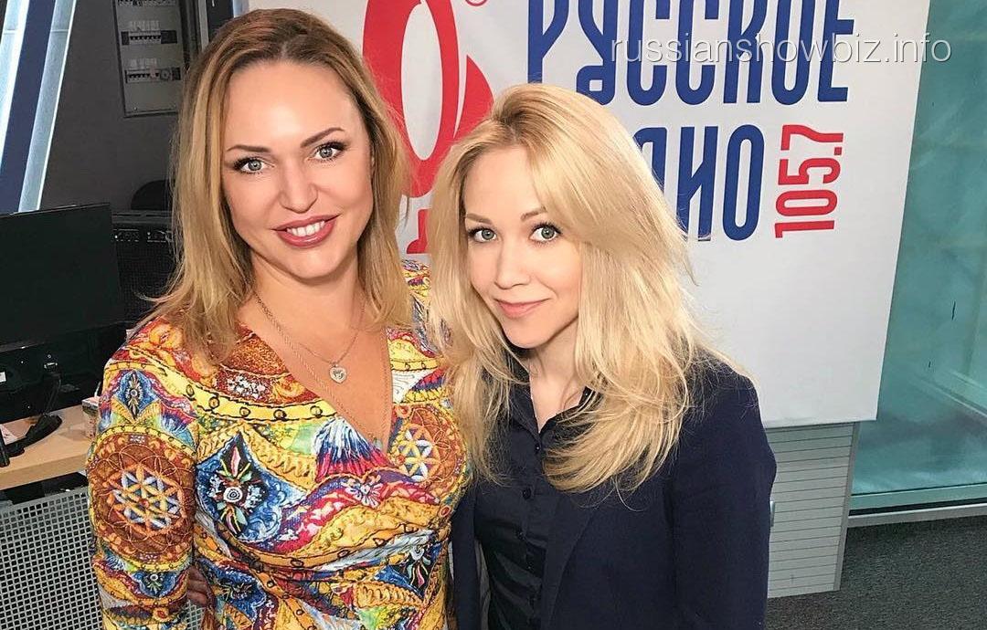 Елена Терлеева с Аллой Довлатовой