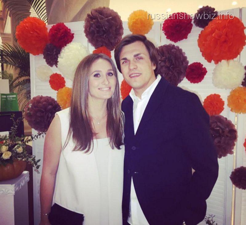 Анастасия Винокур с мужем